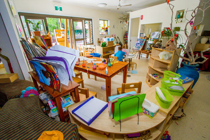 Rainbow Vallery Kindergarten Gladstone indoore room